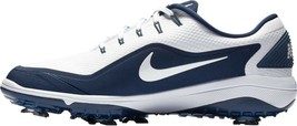 Nike Men's React Vapor 2 Golf Shoes, White/Metallic/Midnight Navy, Size ... - $100.77