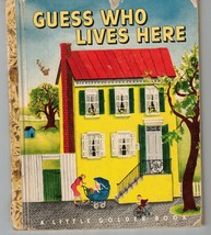 Guess Who Lives Here Little Golden Book - B Copy - Louise Woodcock - $19.60