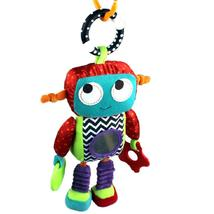 26cm Baby Toy 0M+ Soft Plush Robot Cute Android Baby Rattle Ring Bell Cr... - $26.00