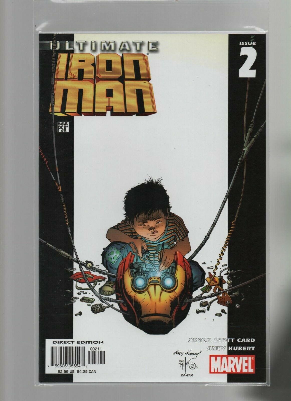 Primary image for Ultimate Iron Man #2 - Marvel Comics - 2005 - Orson Scott Card, Andy Kubert.