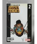 Ultimate Iron Man #2 - Marvel Comics - 2005 - Orson Scott Card, Andy Kub... - $2.93