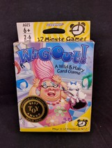 Wig Out! A Wild and Hairy Card Game Gamewright NIB 12 Min Games - $7.38