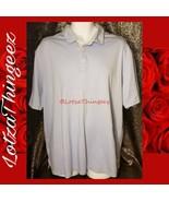 Tommy Bahama XL Light Blue Men's Golf Polo Shirt - $29.69