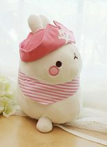 Molang Pirate Stuffed Animal Rabbit Plush Toy 8.6 inches 22cm (Pink) image 4