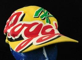Kelloggs Racing Yellow Baseball Cap Hat Snapback Big Logo Box Shipped - $16.99