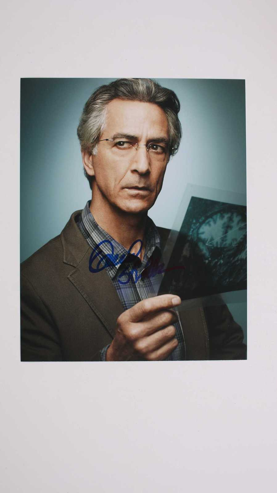 "Primary image for David Strathairn Signed Autographed ""ALPHAS"" Glossy 8x10 Photo"