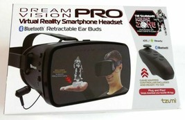 Tzumi Dream Vision Pro Mobile VR Headset Smartphone Virtual Reality +Con... - £7.07 GBP
