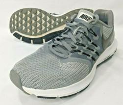 Nike Run Swift Gray Running Shoes Womens 9 Lightweight Trainers 909006-011  - $26.94