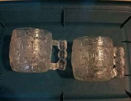 Vintage - Classic 1993 McDonalds The Flintstones 3D Rocky Road Glass Mug... - $4.46