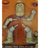 Disney Toy Story Buzz Lightyear Halloween Pumpkin Push In Kit New 2011 - $29.69