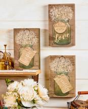 Wood Wall Decor Art Mason Jar Sign Housewarming Gifts Sentiment Country ... - €11,40 EUR