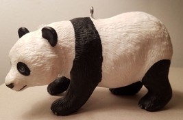 Custom Made Wild Safari Giant Panda Bear Christmas Holiday Ornament #3 - $21.00