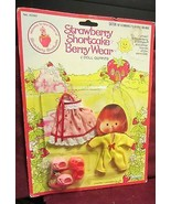 VINTAGE STRAWBERRY SHORTCAKE BERRY WEAR - MINT IN PACKAGE   AND OTHER OU... - $61.75