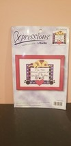 Xpressions by Bucilla Counted Cross Stitch Spoiled Dog 42604 - $9.90