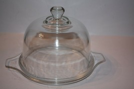 Pyrex Clear Glass Domed Cheese Holder - $18.68