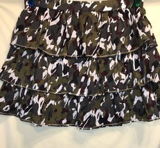 Lane Bryant Women's Skirt Plus Size 18 20 Layered Camouflage 100% Cotton - $24.18