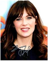ZOOEY DESCHANEL  Authentic Autographed Signed  Photo w/COA - 27041 - $48.00