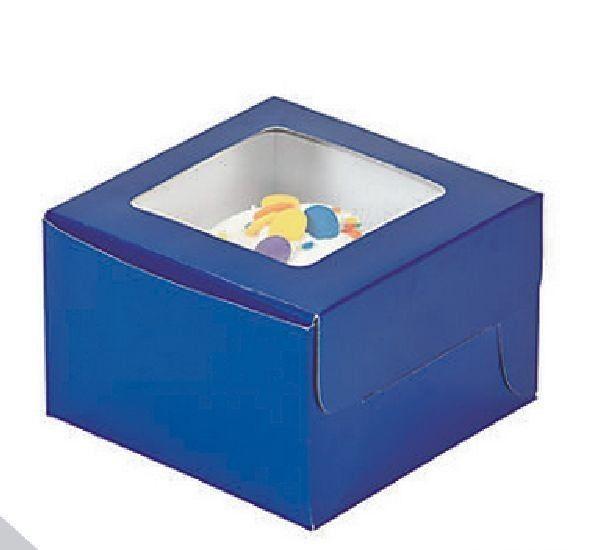 Blue Cupcake Boxes (G11) - $9.84