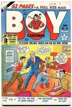 BOY COMICS #54 1950-CHARLES BIRO-LEV GLEASON-MAURER ART FN/VF - $88.27