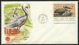 #1466 8c Brown Pelican, Fleetwood-Addressed Fdc **Any 4=FREE Shipping** - $1.00