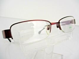 M+ by Modo Mod 1148 (CRNB) Cranberry  50 x 17 135 mm Eyeglass Frames - $19.75