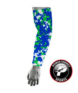 Baseball Sports Compression Dri-Fit Arm Sleeve Royal Green Digital Camo ... - $5.99