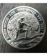 2021 Great Britain Myths & Legends Robin Hood 1 oz Silver BU - $45.00