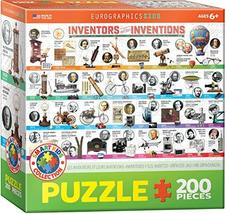 EuroGraphics Great Inventions Jigsaw Puzzle (200-Piece) - $18.26