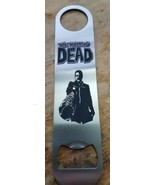 The walking dead negan stainless steel bottle opener/church key - $10.00