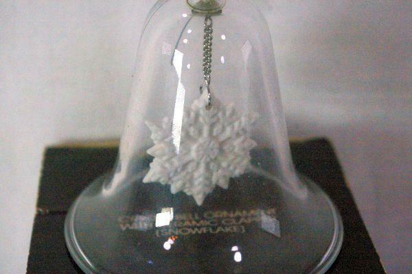 Avon Gallery Originals Crystal Bell Ornament