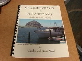 CHARLIE'S CHARTS OF U.S. PACIFIC COAST (Seattle, WA TO San Diego) - $25.74