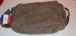 Classic Men's American Tourister Carry on Bag Luggage Brown Tweed Should... - $15.46