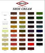 1 Jar Kelly Boot & Shoe Cream Polish 1.5 oz by Fiebing's (ALL COLORS) US... - £5.31 GBP