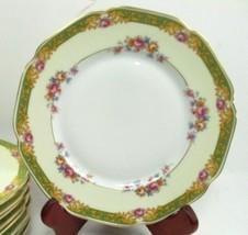 "Tirschenreuth DORSET 10"" Dinner Plate Set of 7 discontinued pattern - $118.80"