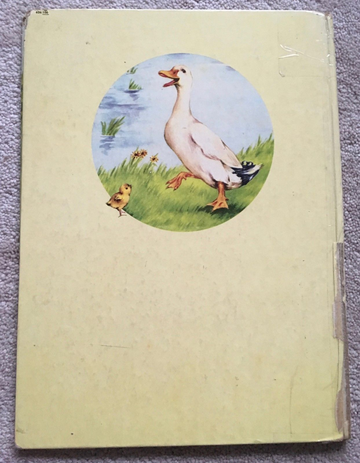 Farm Animals  Rand McNally GIANT Book By Anna Ratzesberger (Hardcover 1952)