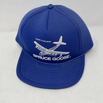 Vintage Spruce Goose Blue SnapBack Hat  - $12.86