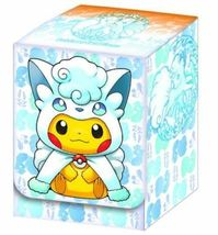 Pokemon Japanese Alolan Ninetales Vulpix Pikachu Cosplay Collection Box Sealed image 3