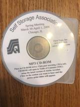 Self Storage Association MP3 CD-ROM Ships N 24h