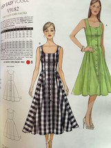Vogue Sewing Pattern Very Easy Vogue 9182 Misses Dress Size 6-14 New - $16.77