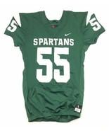 Nike Michigan State Spartans Vapor Pro Football Jersey Men's Large Green... - $38.12