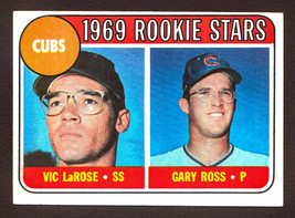 1969 Topps #404 Cubs Rookie Stars (LaRose/Ross) Nr/Mt - $2.50