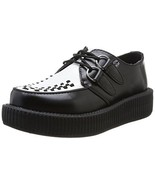 T.U.K. Shoes V6807 Unisex-Adult Creepers, Tuxedo Low Sole Creepers - US:... - $88.22