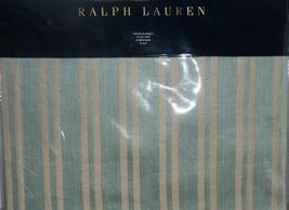 "Ralph Lauren ""Constantina Bretton Stripe"" Teal Throw Blanket 54"" X 72"" Nip $285 - $141.07"