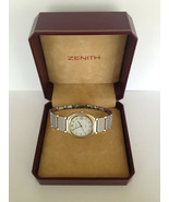 Excellent ZENITH Steel and Gold plated Swiss Unisex Quartz Watch - $332.71