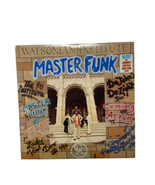 1978 R&B Funk Vinyl Record: Master Funk Watsonian Institute Johnny Guita... - £13.20 GBP