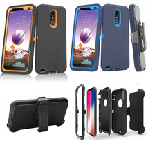 Defender Case For LG K30 K40 K10 2018 K12 Plus (Belt Clip Holster Fits O... - $18.00