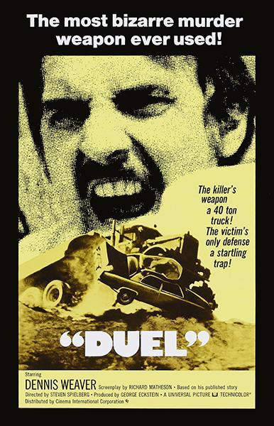 Primary image for Duel - 1971 - Movie Poster