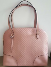 NWT Gucci pink mini Guccissima leather large dome bag ; - $849.99