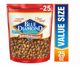 Blue Diamond Almonds, Smokehouse, 25 Ounce - $13.99