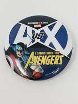 Avengers vs. X-Men I Stand with the Avengers Button - $5.89